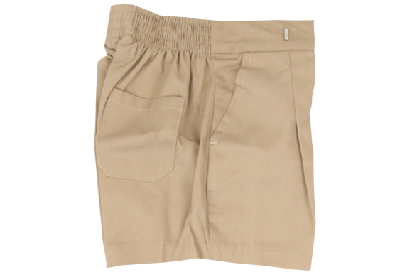 School Shorts - Khaki