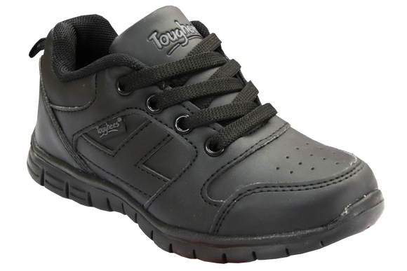 Toughees Caster Lace Up Takkies - Black (Discontinued)