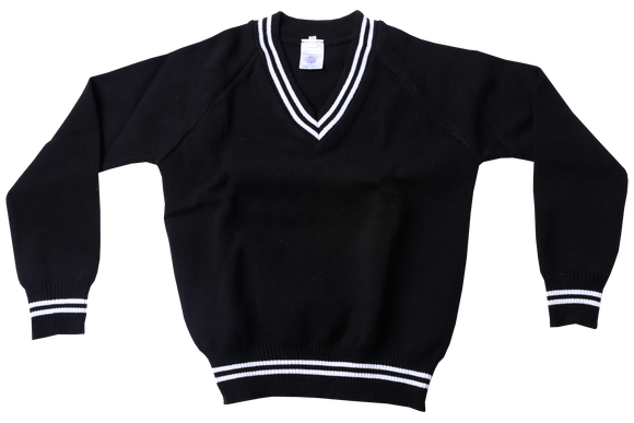 Longsleeve Striped Jersey - Isiqalo Black/White