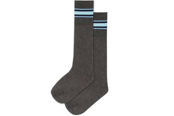 Boys 3/4 Striped Long Socks - Westville Junior
