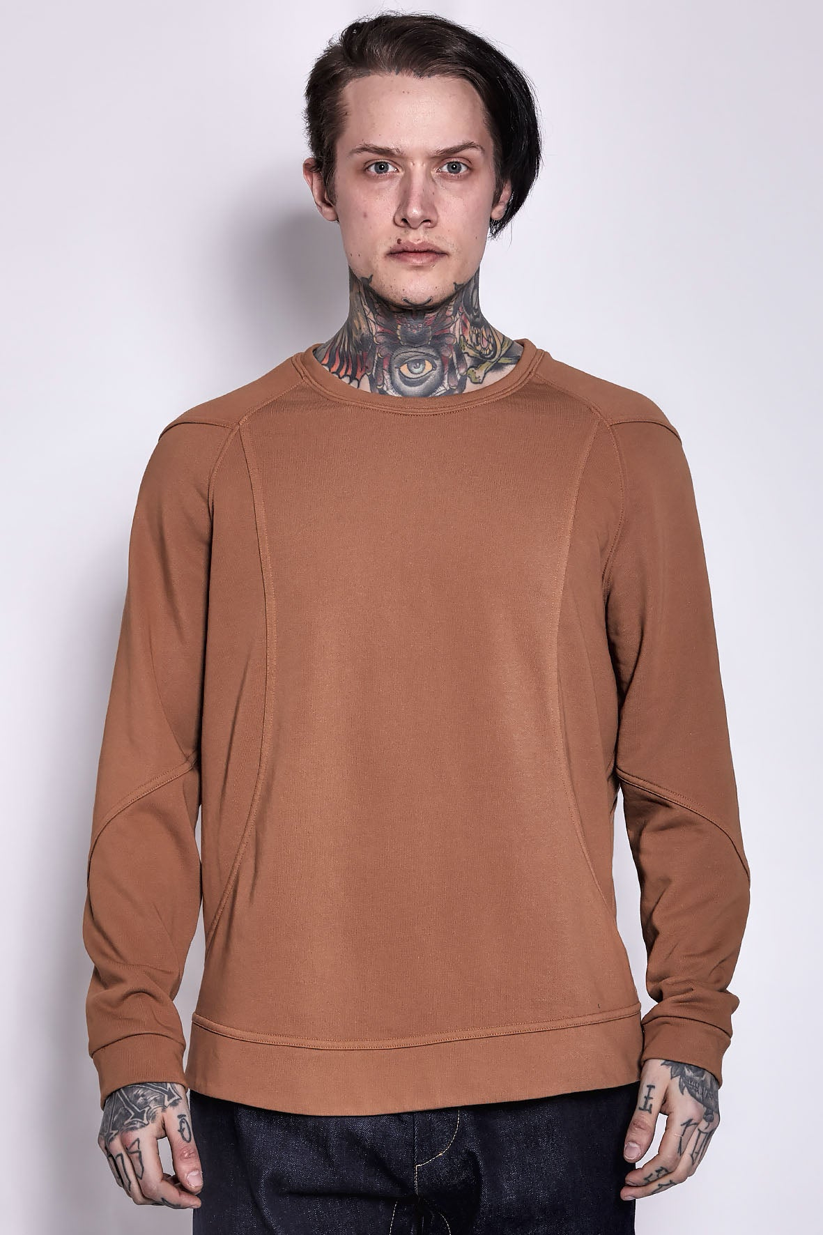 Sweatshirt Leather
