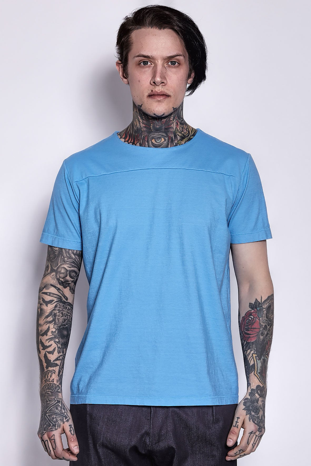Cotton T-shirt Light Blue