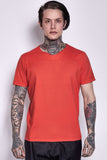 Cotton T-shirt Orange