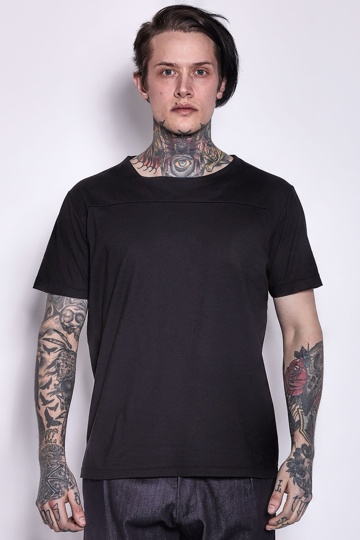 Cotton T-shirt Black
