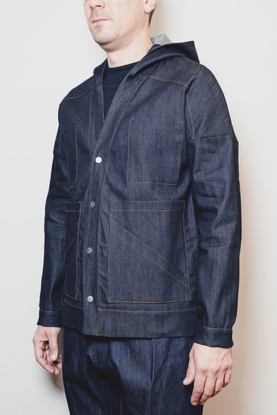 ENGINEER KIMONO  RAW DENIM