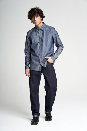 THE EVERYDAY SHIRT 4.5oz RAW CHAMBRAY