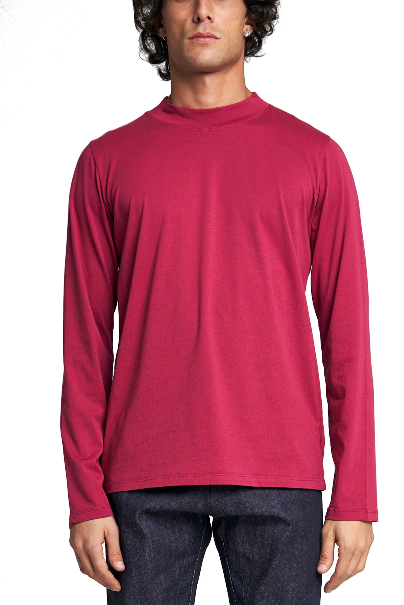 THE MID COLLAR T-SHIRT Long Sleeve