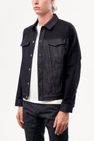 SNAP JACKET RAW DENIM