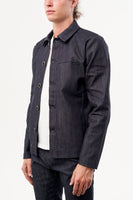 UTILITY JACKET SELVEDGE DENIM & FLEECE