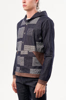 HOODED SHIRT SASHIKO