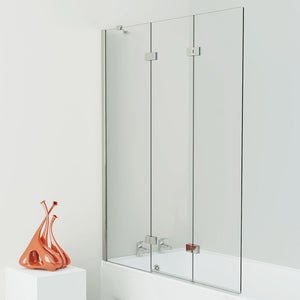 Kudos 3 Panel Bath Screen 6mm Glass