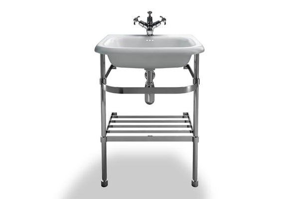 B7EB7ES Clearwater Small Basin and Washstand 55cm x 47cm