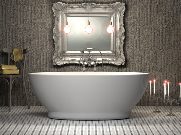 CE11004 Charlotte Edwards Shard 1685 Freestanding Bath