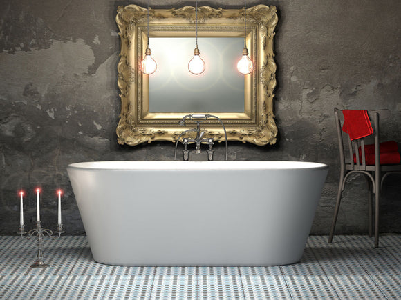 CE11015 Charlotte Edwards Grosvenor Freestanding Bath 1650mm