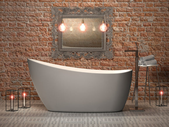 CE11039 Charlotte Edwards Proteus small contemporary slipper bath