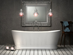 Charlotte Edwards Jupiter Contemporary Boat Bath 1700mm