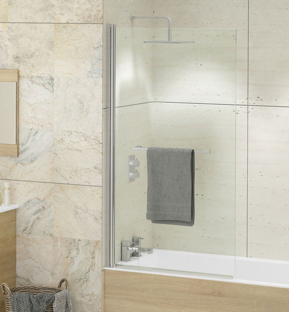 Kudos Single Panel Bath Screen 6mm or 8mm Glass