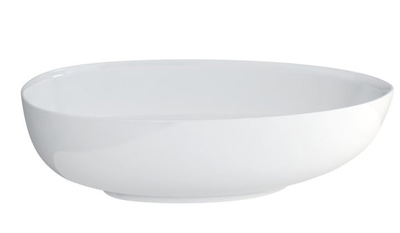 M10FCS Clearwater Teardrop Petite ClearStone Bath 1690mm