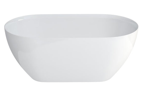 N1ACS Clearwater Formoso Petite ClearStone Bath 1500mm