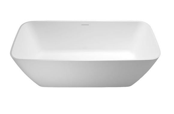 N6D Clearwater Vicenza Piccolo Natural Stone Bath 1600mm