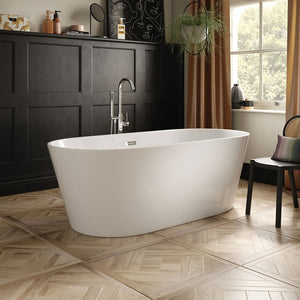 The White Space Como 1700 x 800mm Freestanding Bath