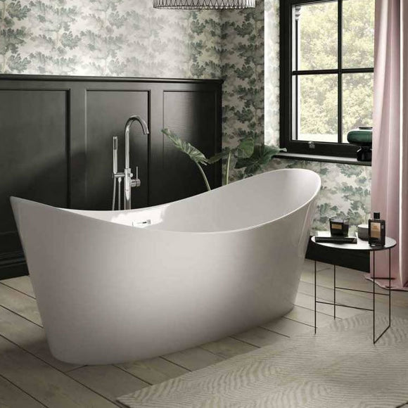 SUL17 The White Space Sulis 1700 x 800mm Freestanding Bath