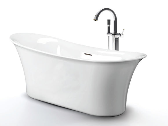 Royce Morgan Ashley Freestanding Bath 1670 x 725mm