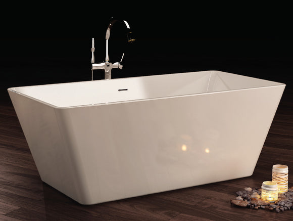 Royce Morgan Blakeney Rectangular Freestanding Bath 1645 x 720mm