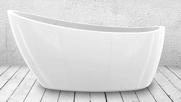 Charlotte Edwards Proteus small contemporary slipper bath