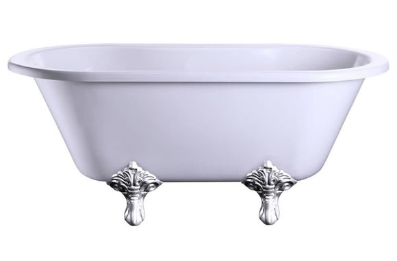 E4 Burlington Windsor 1500mm Small Freestanding Double Ended Bath