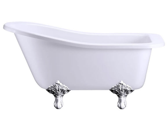 E6 Burlington Buckingham Short Slipper Bath 1500mm