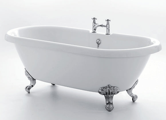 Royce Morgan Kensington Small Double Ended Roll Top Bath 1495mm