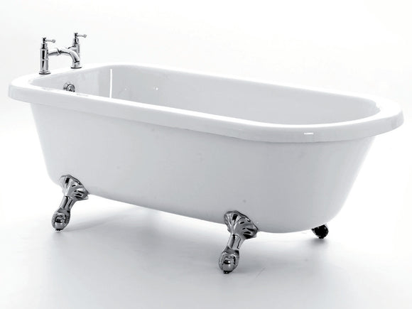 Royce Morgan Lambeth Single Ended Roll Top Bath 1655mm
