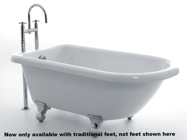 Royce Morgan Orlando 1380mm small single ended roll top bath