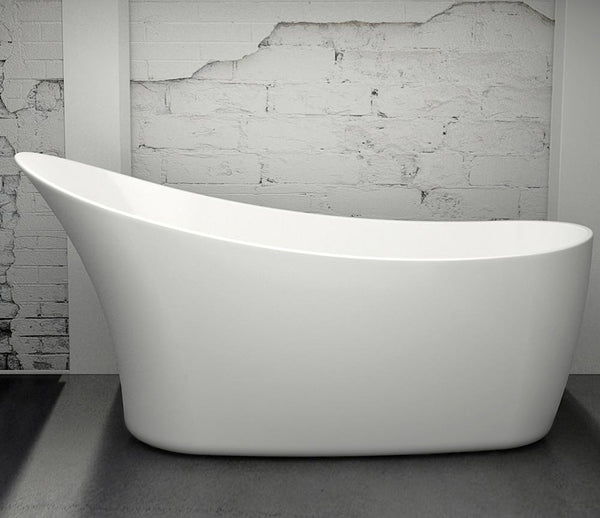 CE11038 Charlotte Edwards Portobello 1720mm Contemporary Slipper Bath