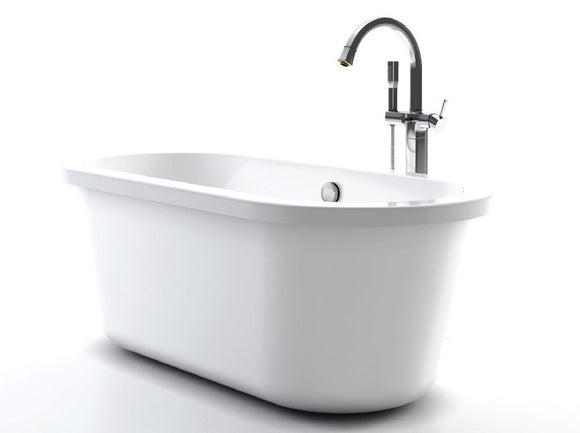 Royce Morgan Tatton Freestanding Flat Top Bath 1670 x 780mm