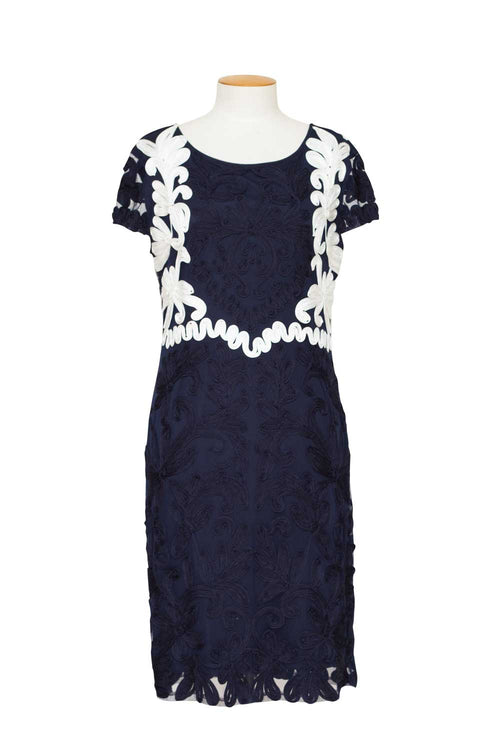 frank-lyman-navy-dress