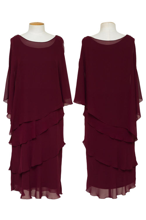 layla-jones-jesse-harper-cape-dress-dark-claret