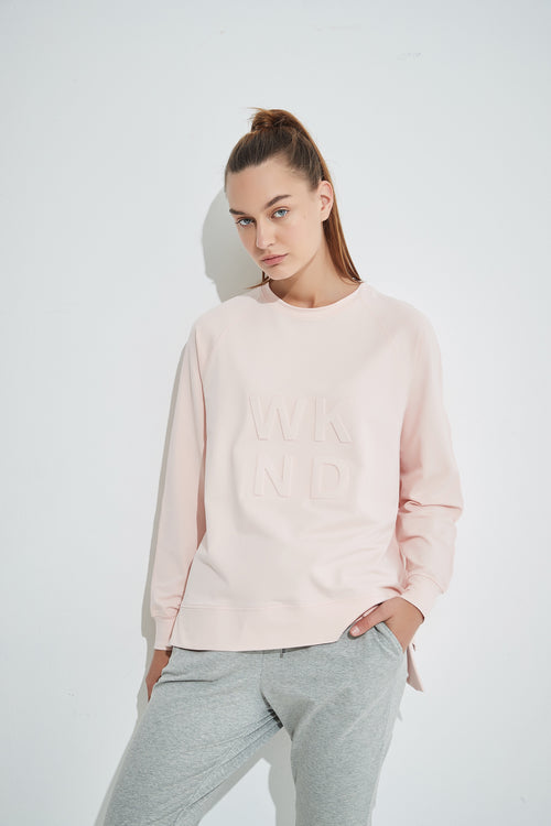 Tirelli - 20A2371 Embossed Sweatshirt