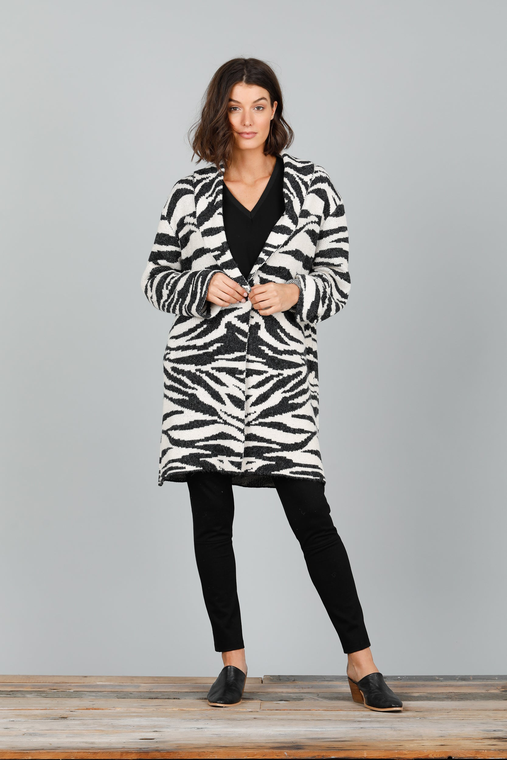 Brave and True - BT2551 Zebra Coat