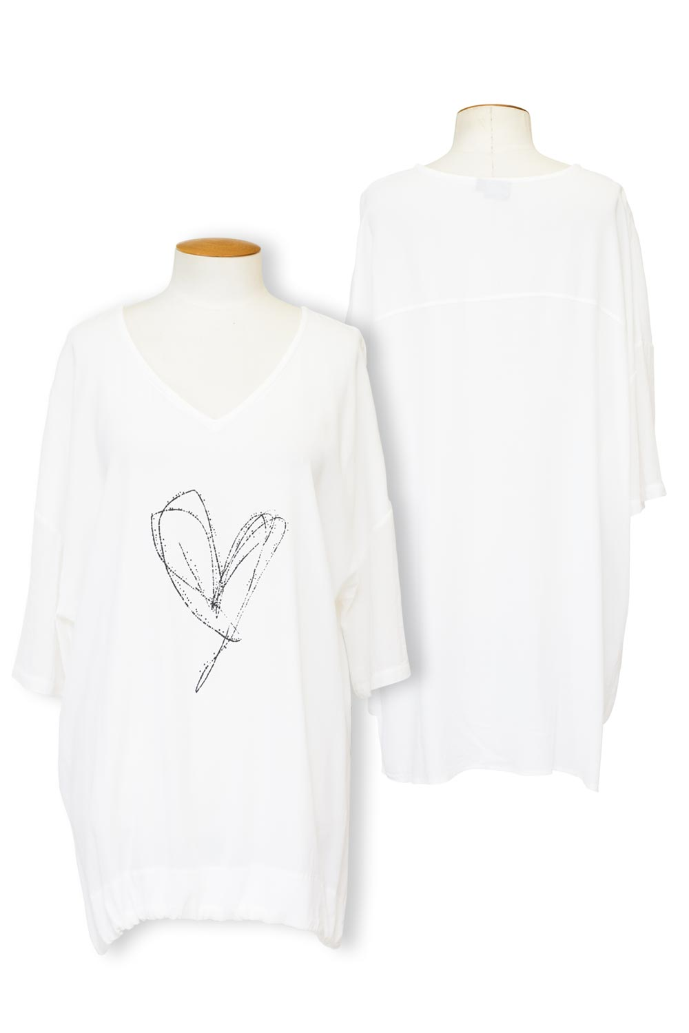 Cashews - C533 Chloe Heart Top