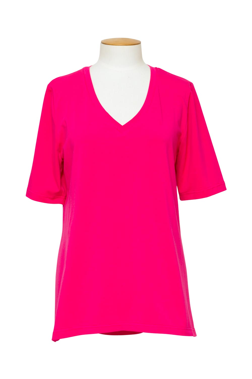 cashews-long-v-shirt-fushia
