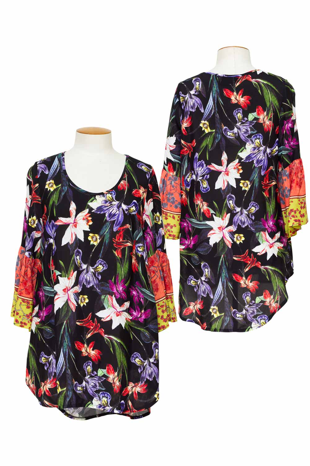 Chocolat - 73655WL Wild Lillies Serenity Top (Exclusive)