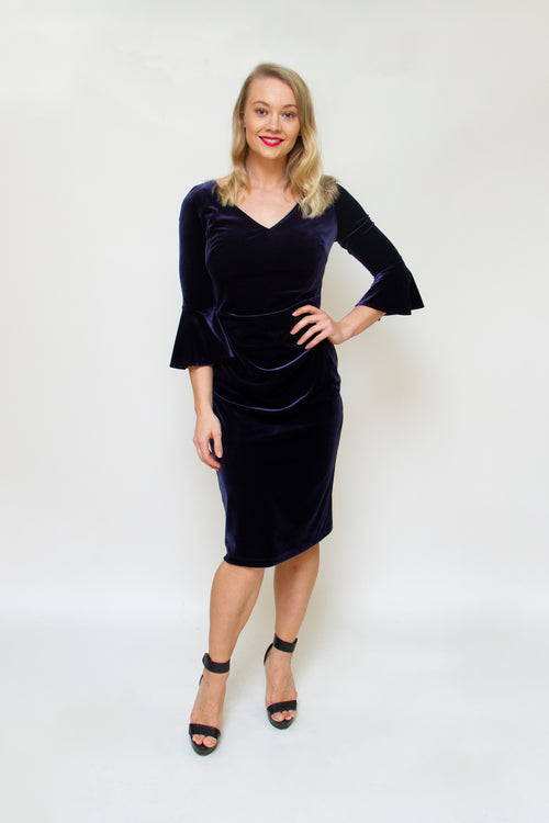 Layla Jones / Jesse Harper Z0187 - Velvet Dress