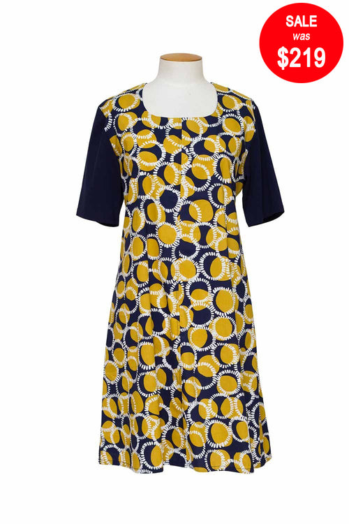 Ginger - F055 Spot Dress