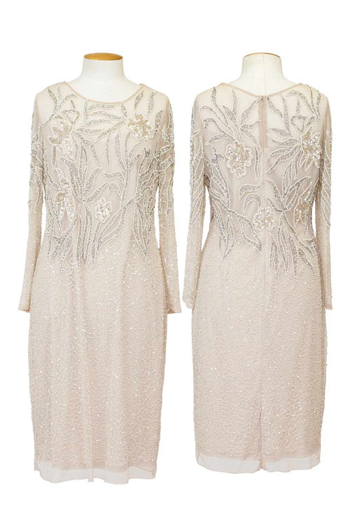 jesse-harper-layla-jones-long sleeve-beaded-dress