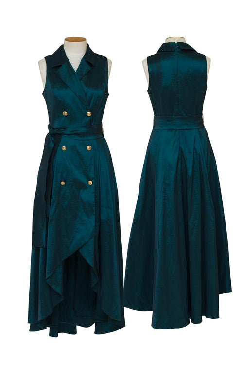 joseph-ribkoff-double-breast-dress