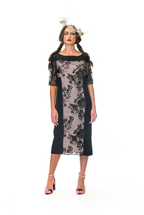 Megan Salmon - M8533 Abbey Dress