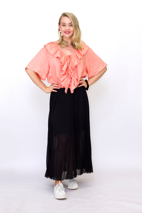 Brave and True - BT5040-2 Alias Pleated Skirt