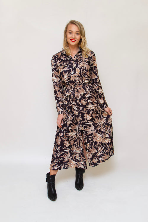 Brave & True - BT4764-2 Safari Dress